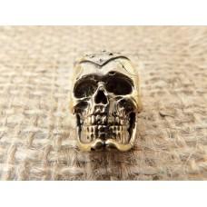 бусина на темляк череп